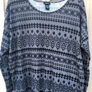 Olive Long Sleeve Crew Neck Light Sweater
